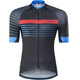 Shimano Breakaway Print Short Sleeve Jersey Men Black/Blue
